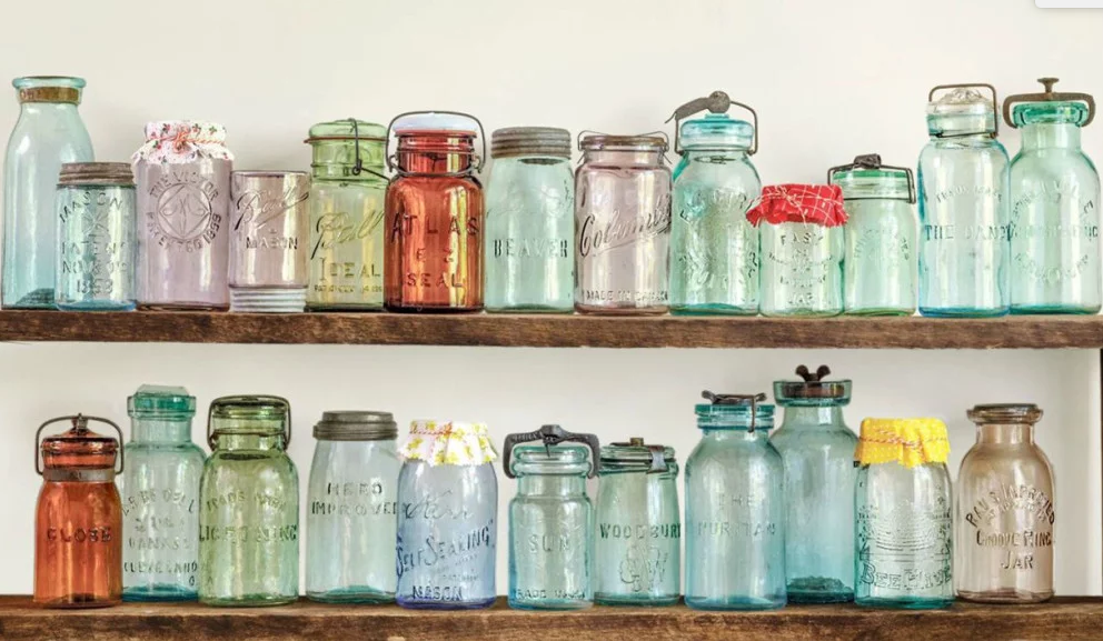 8 Ways to Decorate Mason Jars For a Beautiful, Light-Filled Window Display